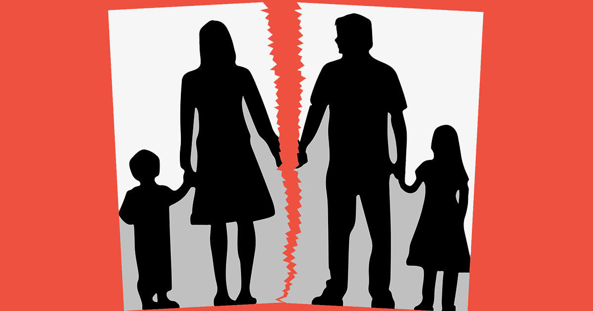 Parent separation and divorce